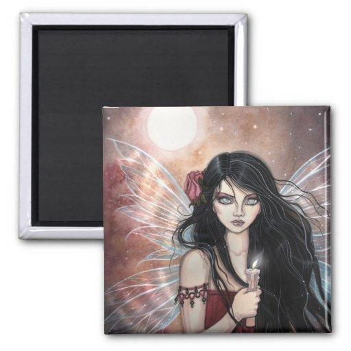 Earthen Dusk Fairy Fantasy Art Magnet