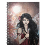 Earthen Dusk Fairy Fantasy Notebook