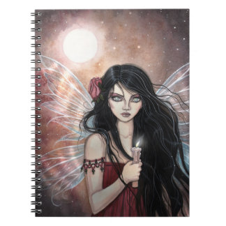 Earthen Dusk Fairy Fantasy Notebook