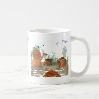 Earthenware  CricketDiane Coffee Art Coffee Mug