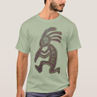Earthenware Kokopelli T-Shirt
