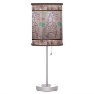 Earthenware Kokopelli Table Lamp