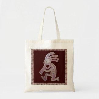 Earthenware Kokopelli Tote Bag