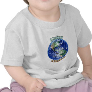 EarthGlobe3.png Tee Shirts