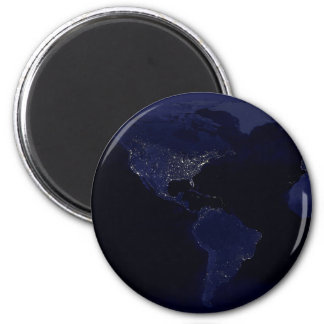 Earthlights 2 Inch Round Magnet