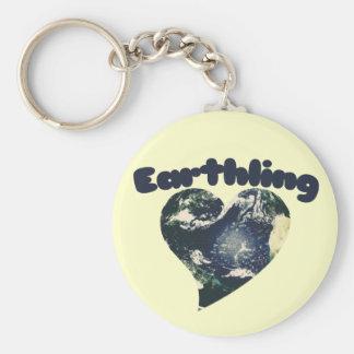 Earthling Llavero Redondo Tipo Pin