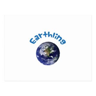Earthling Postcard