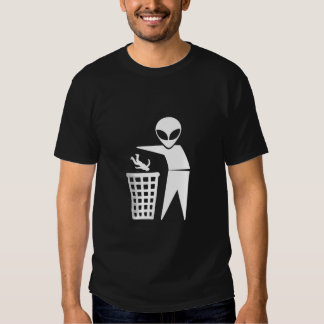 Earthlings Are Rubbish T-Shirt