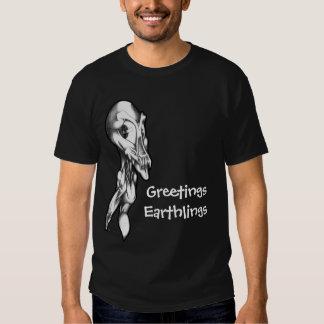 Earthlings de los saludos polera