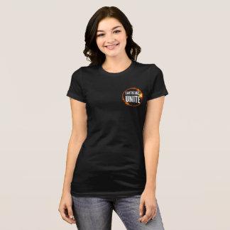 Earthlings Unite - Dark Women's T T-Shirt