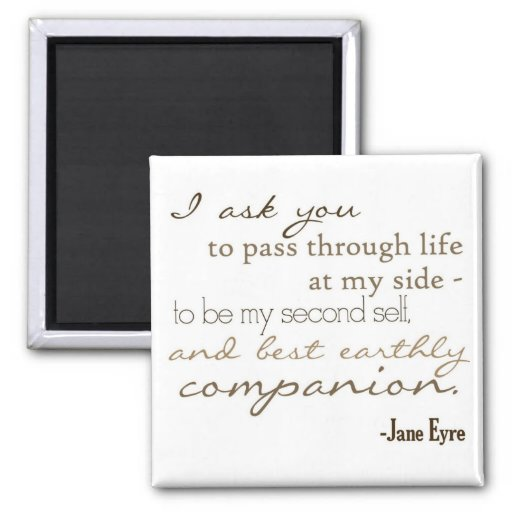 Earthly Companion 2 Inch Square Magnet