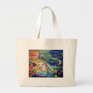 Earthly Delights Large Tote Bag