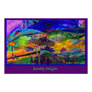 Earthly Delights Poster