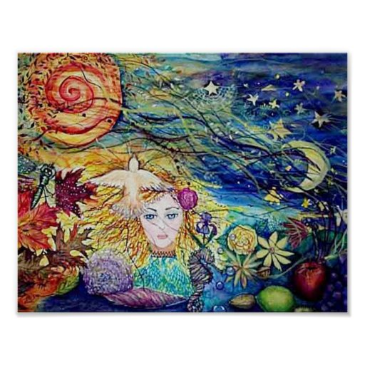 Earthly Delights Print