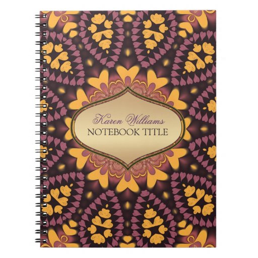 Earthly Eastern Love Notebook
