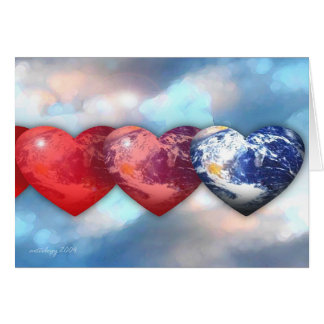 Earthly Love Greeting Card