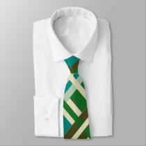 Earthly Treasures Intersecting Lines Neck Tie