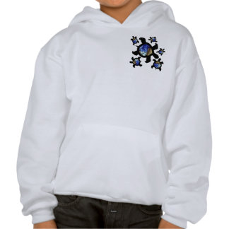 Earthly Turtles 2-Sided Kids' Sweatshirts
