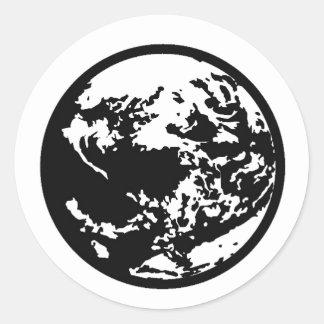 EarthMother Pegatina Redonda