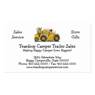 Earthmover Construction Business Cards