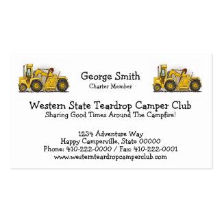 Earthmover Construction Business Card Templates
