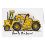 Earthmover Construction Note Card