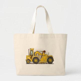 Earthmover Construction Tote Bag