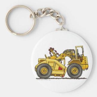 Earthmover Pan Scraper Construction Key Chains