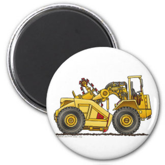 Earthmover Pan Scraper Construction Magnets