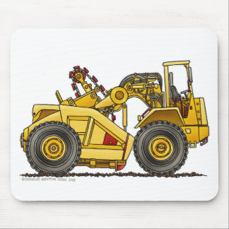 Earthmover Pan Scraper Construction Mouse Pad