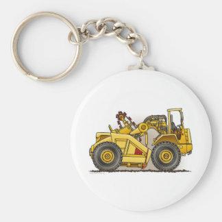 Earthmover Scraper Key Chain