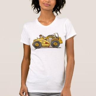Earthmover Scraper Ladies Tank Top