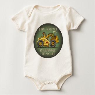 Earthmover Scraper Operator Quote Infant Creeper