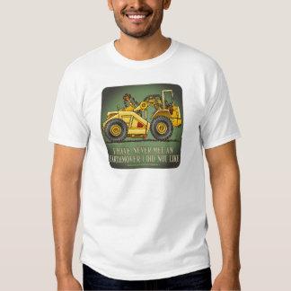 Earthmover Scraper Operator Quote Mens T-Shirt