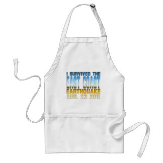 earthquake 2011 adult apron