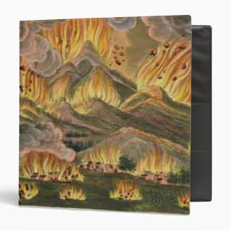 Earthquake and Eruption of the Mountain of Asama-y 3 Ring Binder