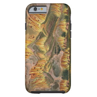 Earthquake and Eruption of the Mountain of Asama-y Tough iPhone 6 Case
