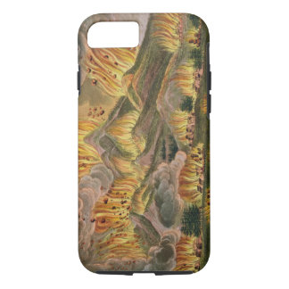 Earthquake and Eruption of the Mountain of Asama-y iPhone 8/7 Case