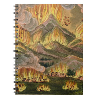 Earthquake and Eruption of the Mountain of Asama-y Notebook