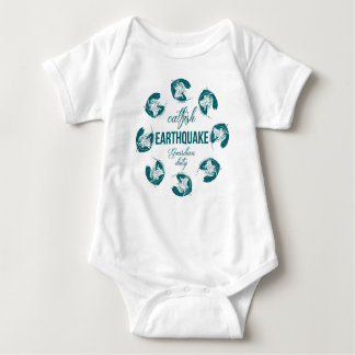 EARTHQUAKE BABY BODYSUIT