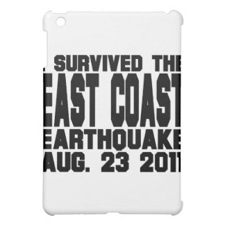 earthquake iPad mini cover