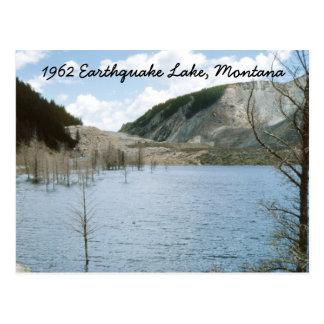 Earthquake Lake 1962 Montana Postcard