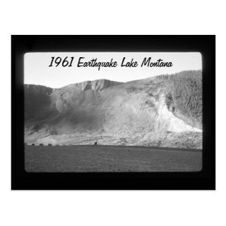 Earthquake Lake Slide Aftermath Montana Postcard