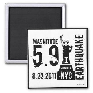 Earthquake NYC 2011 Magnet 2