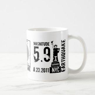 Earthquake NYC 2011 Mug