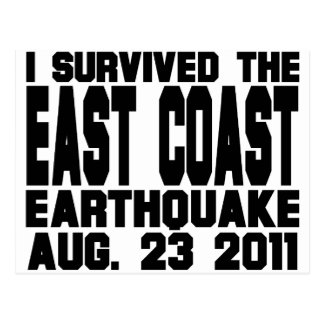 earthquake postcard
