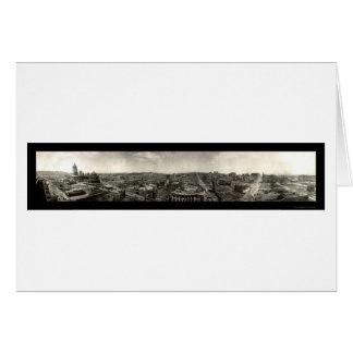 Earthquake Ruins San Francisco Photo 1906 Card