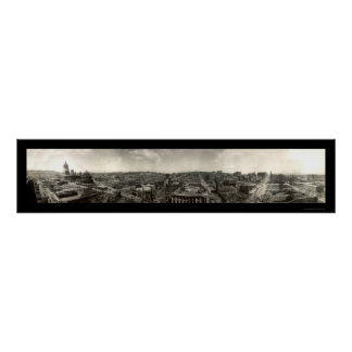 Earthquake Ruins San Francisco Photo 1906 Poster