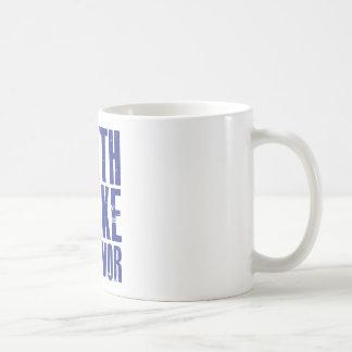 Earthquake Survivor - Blue Coffee Mug