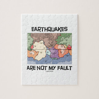 Earthquakes Are Not My Fault (Plate Tectonics) Jigsaw Puzzles